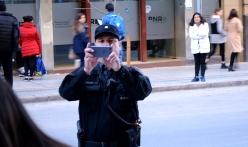 """El oficial Salatti, de la Policía de la Ciudad, """"especialista"""" en hostigamiento"""
